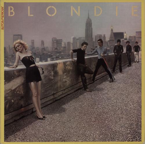 Blondie Autoamerican vinyl LP album (LP record) Dutch BLOLPAU676292