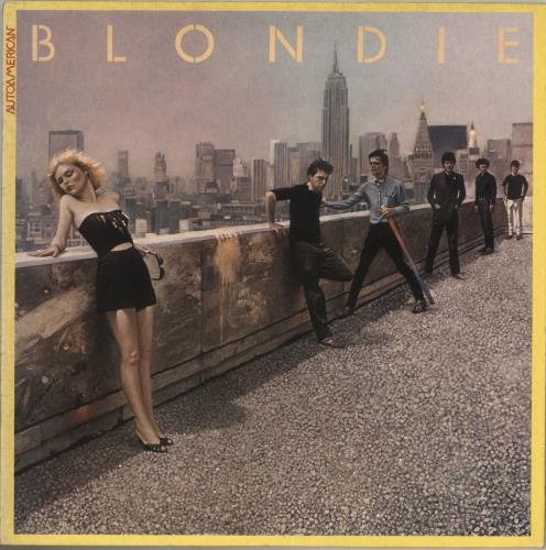 Blondie Autoamerican vinyl LP album (LP record) Dutch BLOLPAU740083
