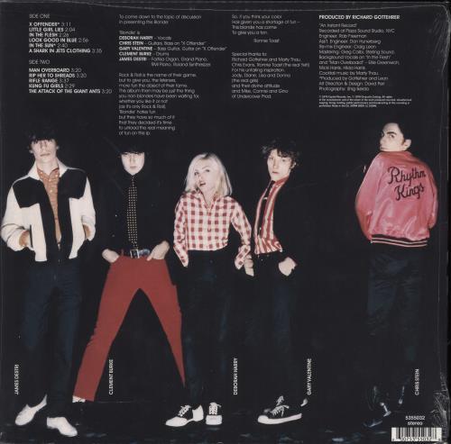 Blondie Blondie - 180gm - Sealed vinyl LP album (LP record) UK BLOLPBL774588