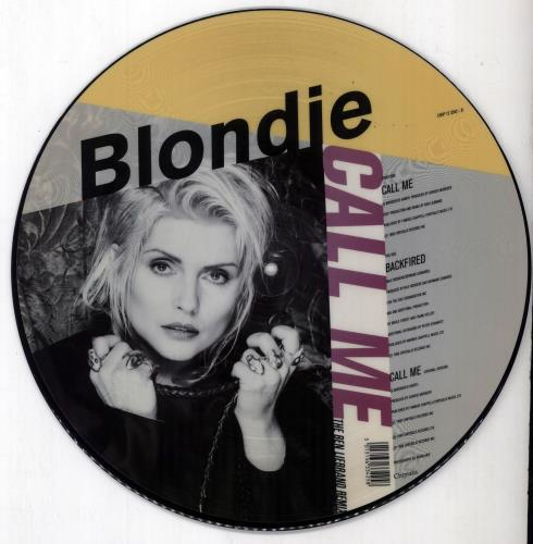 blondie call me uk 12quot vinyl picture disc 12inch picture
