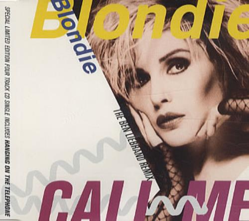 "Blondie Call Me CD single (CD5 / 5"") UK BLOC5CA45800"