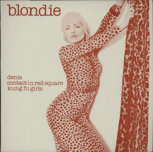 "Blondie Denis - Red Sleeve 12"" vinyl single (12 inch record / Maxi-single) UK BLO12DE43525"