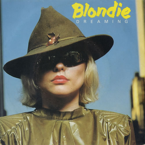 """Blondie Dreaming - injection label 7"""" vinyl single (7 inch record) French BLO07DR578068"""