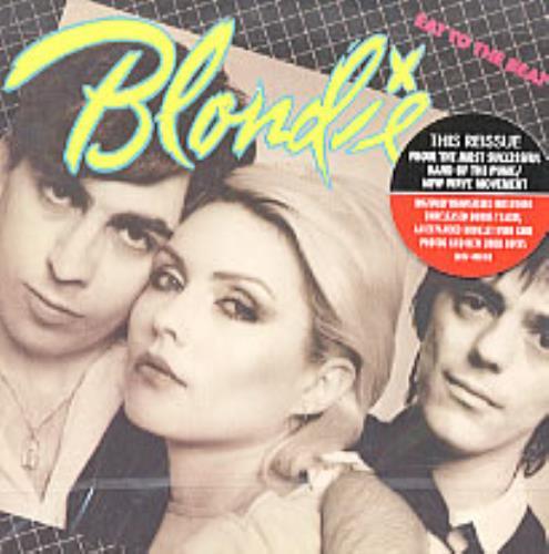 Blondie Eat To The Beat CD album (CDLP) US BLOCDEA213416