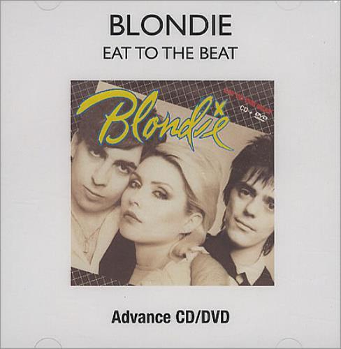 Blondie Eat To The Beat 2-disc CD/DVD set US BLO2DEA410257