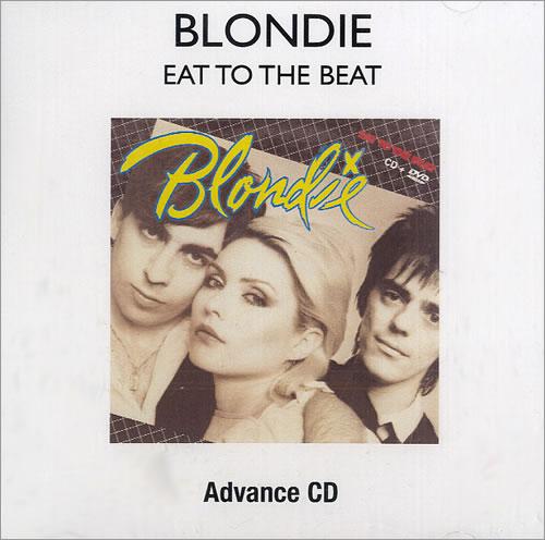 Blondie Eat To The Beat CD-R acetate US BLOCREA481879