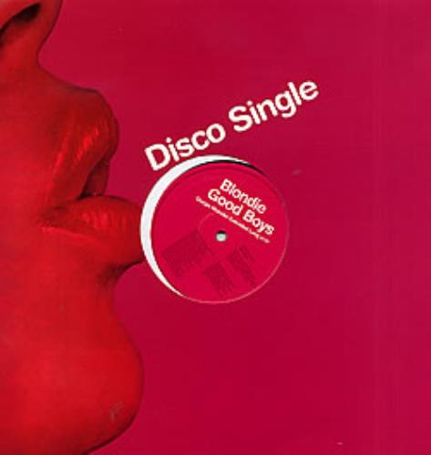 "Blondie Good Boys - red sleeve 12"" vinyl single (12 inch record / Maxi-single) UK BLO12GO256236"