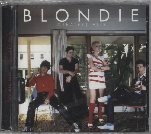 Blondie Greatest Hits - Sealed 2-disc CD/DVD set UK BLO2DGR718010