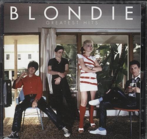 Blondie Greatest Hits 2-disc CD/DVD set UK BLO2DGR340401