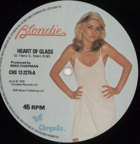 "Blondie Heart Of Glass - EX 12"" vinyl single (12 inch record / Maxi-single) UK BLO12HE18698"