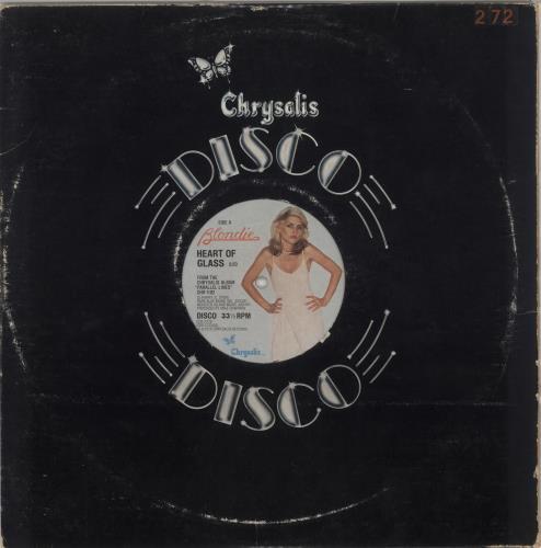 "Blondie Heart Of Glass - EX 12"" vinyl single (12 inch record / Maxi-single) US BLO12HE665373"