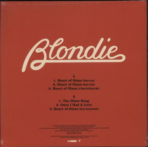 "Blondie Heart Of Glass EP - Sealed 12"" vinyl single (12 inch record / Maxi-single) UK BLO12HE707061"