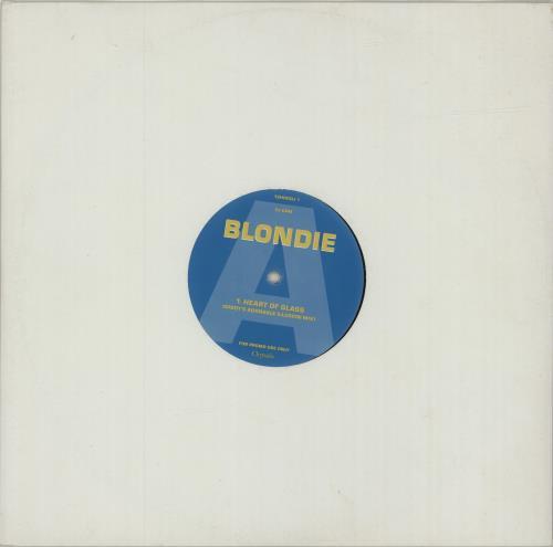 "Blondie Heart Of Glass 12"" vinyl single (12 inch record / Maxi-single) UK BLO12HE47369"