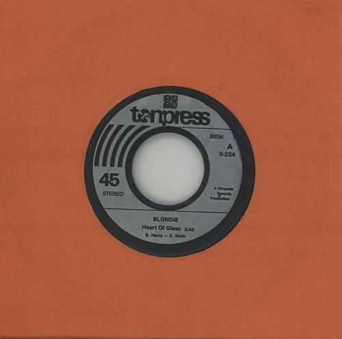 "Blondie Heart Of Glass 7"" vinyl single (7 inch record) Polish BLO07HE582923"