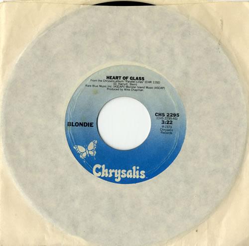 "Blondie Heart Of Glass 7"" vinyl single (7 inch record) US BLO07HE605715"
