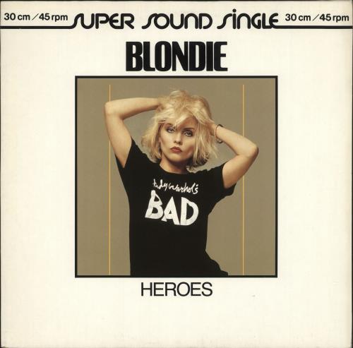 Blondie Heroes German 12 Quot Vinyl Single 12 Inch Record