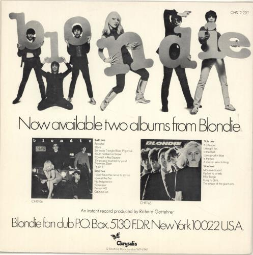"""Blondie I'm Always Touched By Your Presence Dear - EX 12"""" vinyl single (12 inch record / Maxi-single) UK BLO12IM48192"""