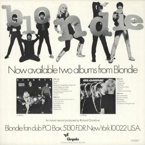 """Blondie I'm Always Touched By Your Presence Dear 12"""" vinyl single (12 inch record / Maxi-single) UK BLO12IM736602"""