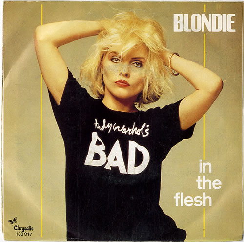 "Blondie In The Flesh 7"" vinyl single (7 inch record) Dutch BLO07IN139955"