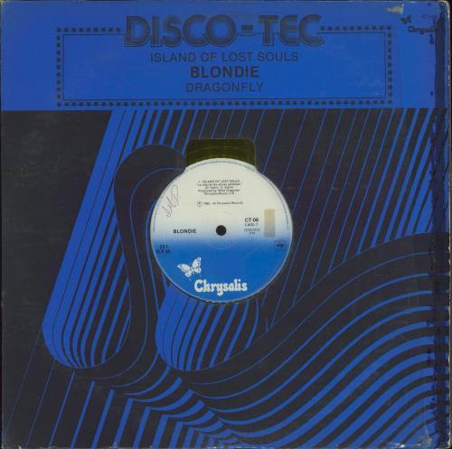 """Blondie La Isla De Las Almas Perdidas - Yellow Vinyl - W.O.L. 12"""" vinyl single (12 inch record / Maxi-single) Mexican BLO12LA716458"""