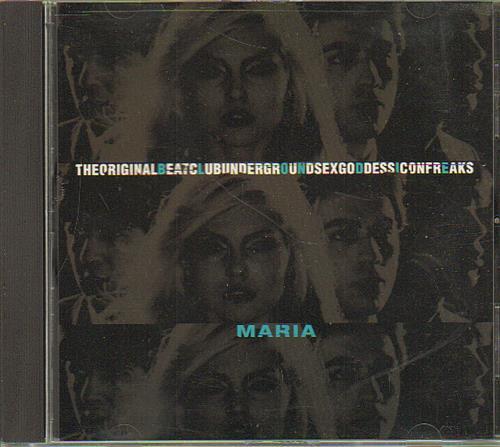 "Blondie Maria CD single (CD5 / 5"") US BLOC5MA130119"