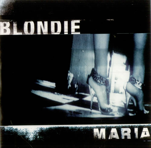 "Blondie Maria CD single (CD5 / 5"") French BLOC5MA134908"