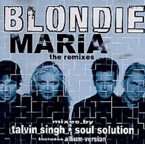 "Blondie Maria CD single (CD5 / 5"") US BLOC5MA169877"