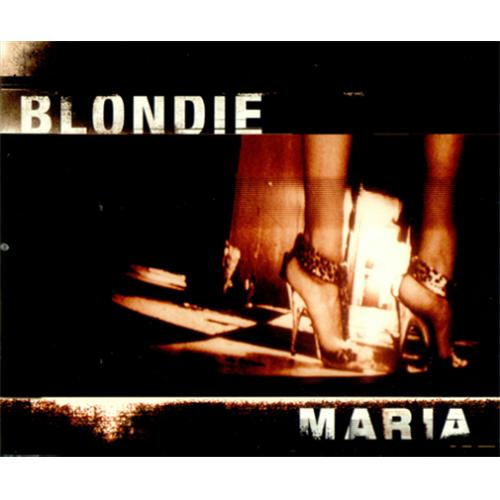 "Blondie Maria CD single (CD5 / 5"") UK BLOC5MA231922"