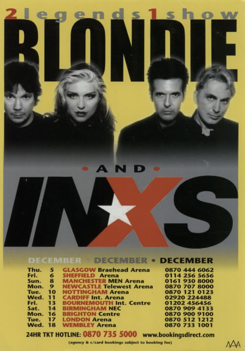 Blondie No Exit - Pair of Handbill/Flyers handbill UK BLOHBNO603782