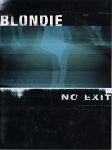 Blondie No Exit handbill US BLOHBNO168973