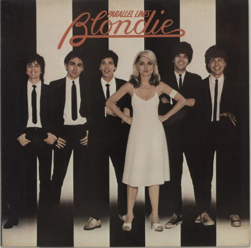 Blondie Parallel Lines + Inner - EX vinyl LP album (LP record) UK BLOLPPA165039