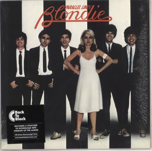 Blondie Parallel Lines - 180gm vinyl LP album (LP record) UK BLOLPPA741419