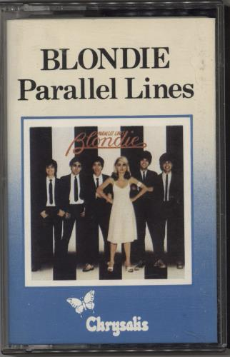 Blondie Parallel Lines - Blue Bordered Sleeve cassette album UK BLOCLPA678611