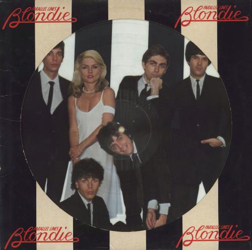 Blondie Parallel Lines picture disc LP (vinyl picture disc album) US BLOPDPA147178