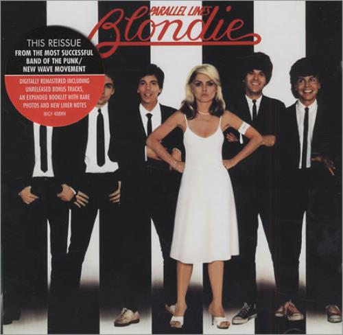 Blondie Parallel Lines CD album (CDLP) UK BLOCDPA196200