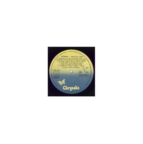 Blondie Parallel Lines vinyl LP album (LP record) Portugese BLOLPPA331261