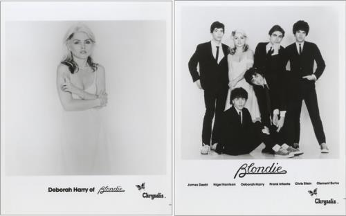 Blondie Parallel Lines media press pack US BLOPPPA463543