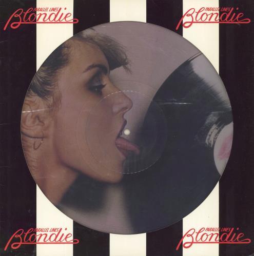 Blondie Parallel Lines picture disc LP (vinyl picture disc album) US BLOPDPA04761