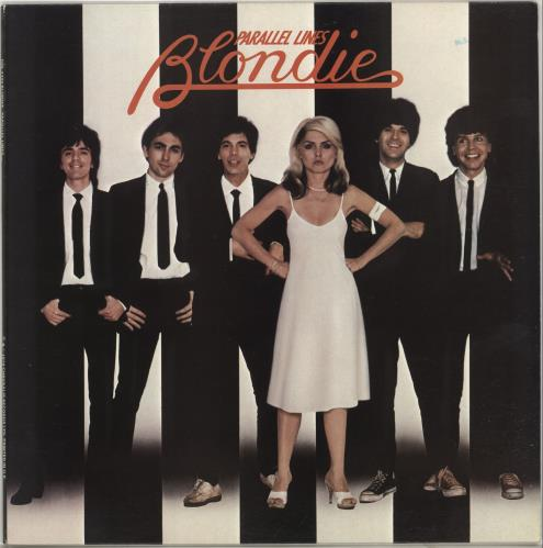 Blondie Parallel Lines vinyl LP album (LP record) UK BLOLPPA662075