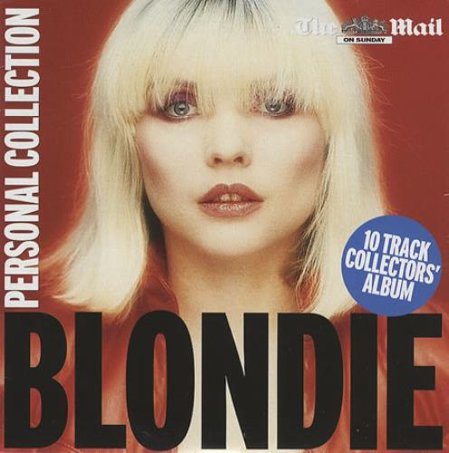 Blondie Personal Collection CD album (CDLP) UK BLOCDPE367018