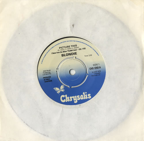 "Blondie Picture This - 4pr 7"" vinyl single (7 inch record) UK BLO07PI578219"