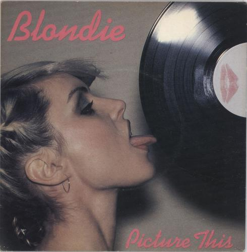 "Blondie Picture This - P/S - Yellow 7"" vinyl single (7 inch record) UK BLO07PI42036"