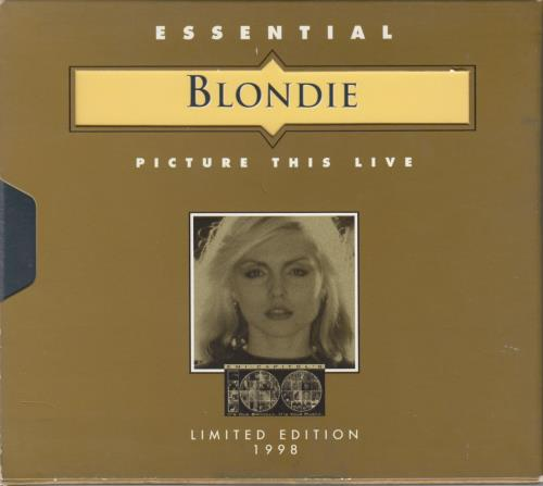 Blondie Picture This Live - Digipak Sleeve CD album (CDLP) US BLOCDPI121362