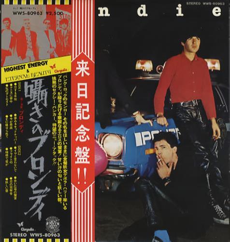 Blondie Plastic Letters - Double Obi vinyl LP album (LP record) Japanese BLOLPPL371734