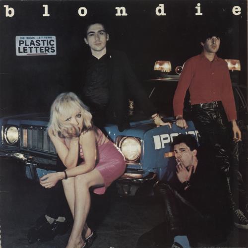 Blondie Plastic Letters vinyl LP album (LP record) UK BLOLPPL171443