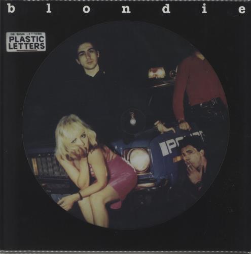 Blondie Plastic Letters picture disc LP (vinyl picture disc album) UK BLOPDPL668544