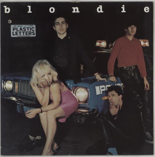 Blondie Plastic Letters vinyl LP album (LP record) Canadian BLOLPPL763613
