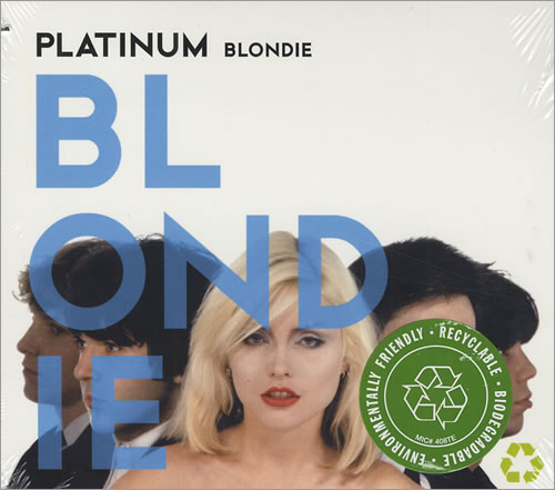 Blondie Platinum CD album (CDLP) US BLOCDPL432357