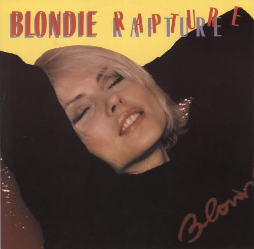 "Blondie Rapture 12"" vinyl single (12 inch record / Maxi-single) UK BLO12RA15232"