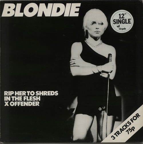 "Blondie Rip Her To Shreds 12"" vinyl single (12 inch record / Maxi-single) UK BLO12RI630935"